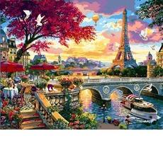 VP1359 Раскраска по номерам Цветущий Париж Babylon