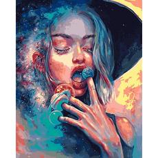 VP1370 Раскраски по номерам Повелительница вселенной Babylon