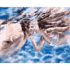 VP1372 Картина по номерам Влюбленные в океан Babylon