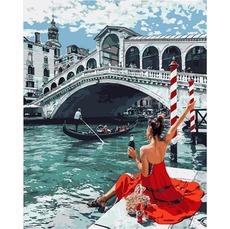 VP1375 Картина по номерам Праздник в Венеции Babylon