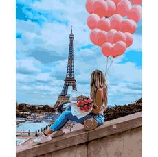 VP1377 Картина по номерам Лучший день в Париже Babylon