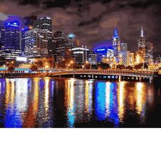 Мельбурн. Ночная АвстралияVP729