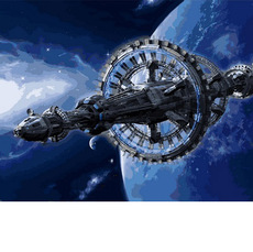 Космическая станцияVP740