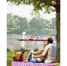 Пикник на берегу рекиХуд. Ричард МакнейлVP770