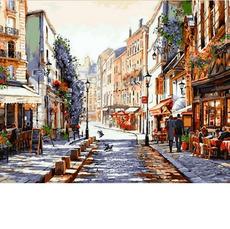 Париж. Утро после дождя Худ. Ричард Макнейл VP776
