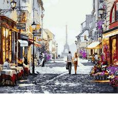 Летний вечер в ПарижеХуд. Ричард МакнейлVP777