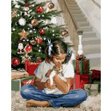 Рождественский подарок Худ. Ричард МакнейлVP785