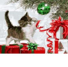 Котенок с ёлочным шаромХуд. Ричард МакнейлVP788