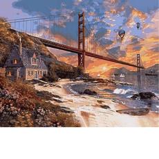 Закат над Сан-Франциско VP825