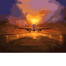 Картина по номерам Babylon Навстречу солнцу VP843 40 х 50см