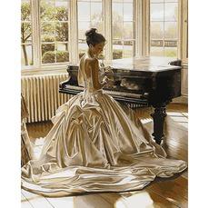 Девушка у рояля VP897