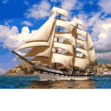 Картина по номерам Babylon Попутный ветер VP899 40 х 50см