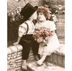 Картина по номерам Babylon Поцелуйчик VP904 40 х 50см