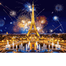 Картина по номерам Babylon Салют над Парижем VP938 40 х 50см