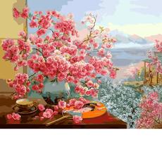 В объятиях цветущей сакуры VP964